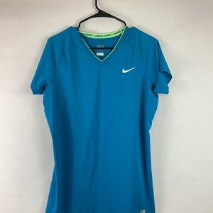 Nike Dri fit V neck Women's new without tags XL